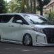 Modifikasi Toyota Alphard G 2016